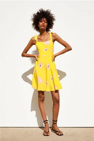 Zara Rustieke jurk met print