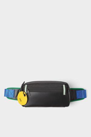 Zara Zwarte heuptas met gekleurd detail