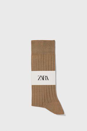 Zara Heren Sokken & Kousen - Gemerceriseerde ribsokken van premium kwaliteit