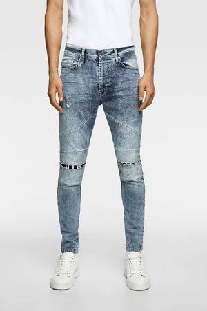Zara Jeans met scheuren en patches