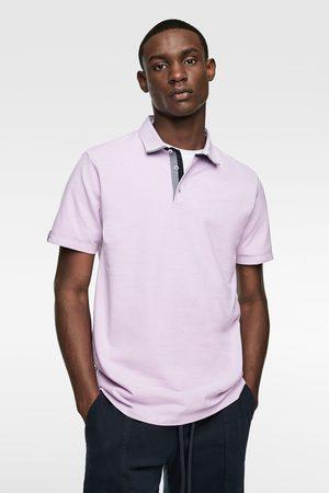 Zara Heren Poloshirts - Polo met combi-kraag