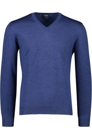 Olymp Heren Pullovers - Wollen pullover v-hals