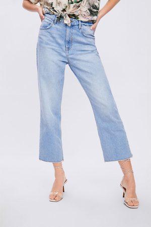 Zara Straight cropped jeans z1975