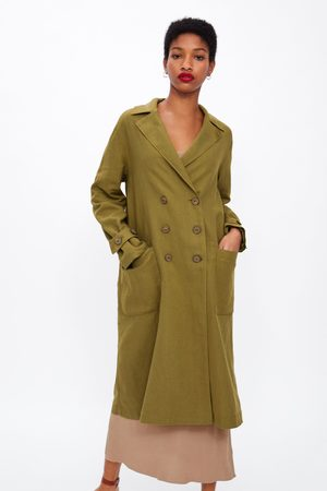 Zara Oversized trenchcoat met knopen