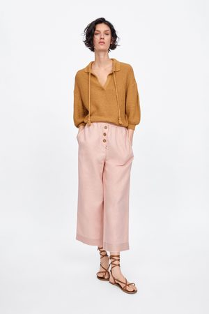 Zara Culotte-broek met knopen