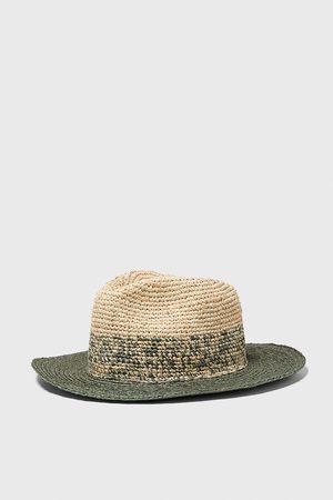 Zara Tweekleurige hoed met structuur