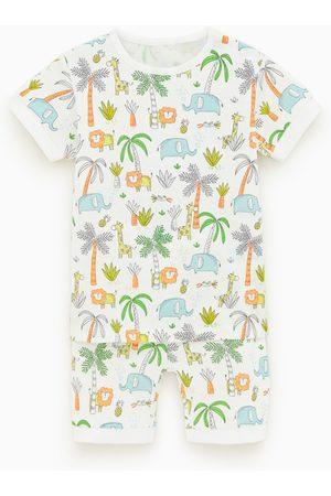Zara Baby Pyjama's - Pyjama met jungleprint
