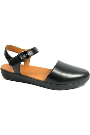FitFlop TM CovaTM II Leather Ballerina