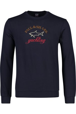 Paul & Shark Crew neck sweater opdruk
