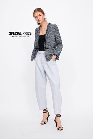 Zara Kort tweed jasje