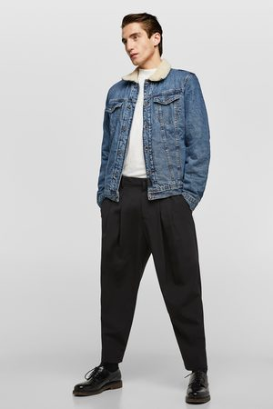 Zara Denim jack met teddy