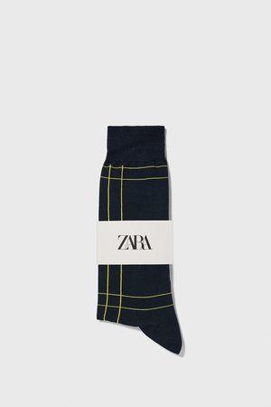 Zara Gemerceriseerde sokken met ruiten