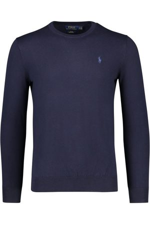Polo Ralph Lauren Ralph Lauren sweater navy slim fit ronde hals