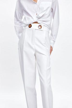 Zara Buttoned trousers