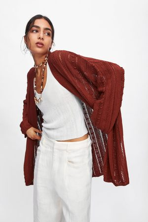 Zara Oversized vest met structuur