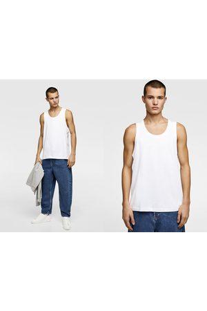 Zara Heren Shirts - Basic mouwloos shirt
