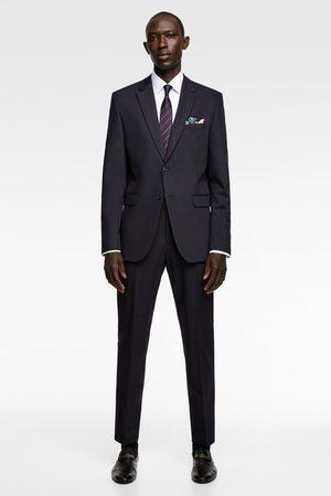 Zara Comfortabele cinzato kostuumbroek