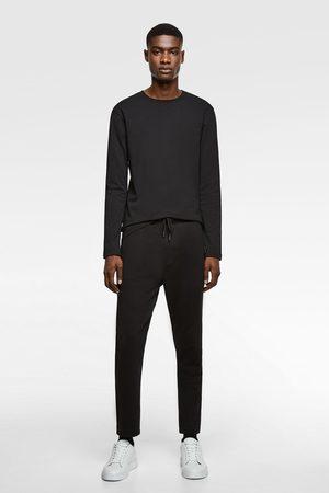 Zara Heren Lange mouw - Basic t-shirt met lange mouwen