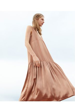 Zara Asymmetrische combi-jurk