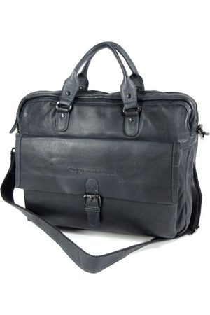 Chesterfield Laptop- & Businesstassen - Black label 15,6 inch laptoptas STEVE Antraciet