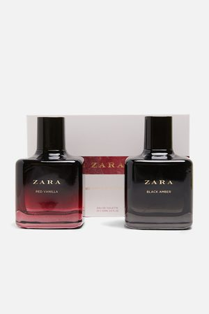 Zara Dames Parfum - Red vanilla eau de toilette 100 ml+ black amber eau de toilette 100 ml