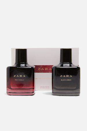 Zara RED VANILLA EAU DE TOILETTE 100 ml+ BLACK AMBER EAU DE TOILETTE 100 ml