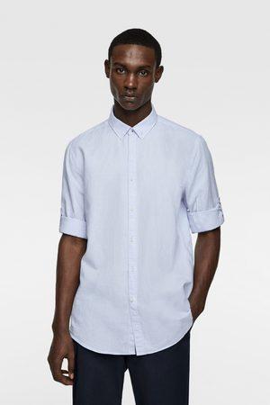 Zara Overhemd met mouwophouders