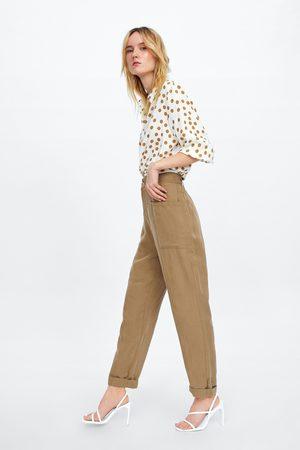 Zara Baggy broek met zakken