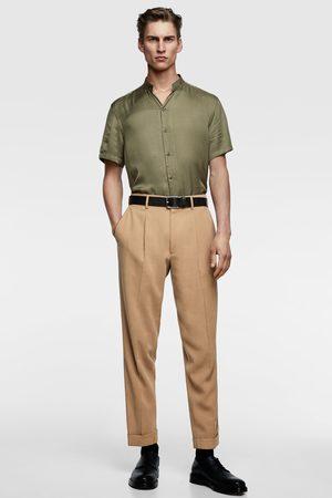 Zara Soepelvallend overhemd met maokraag