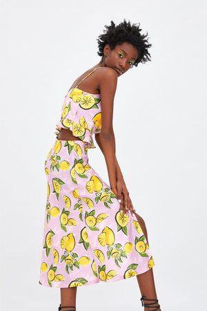 Zara Rok met citroenen
