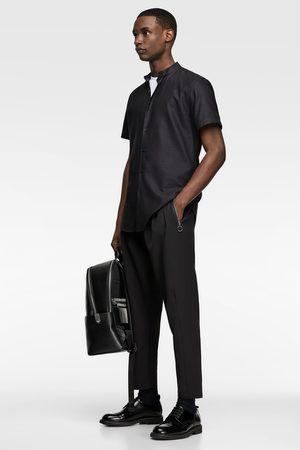 Zara Gestructureerd overhemd met maokraag
