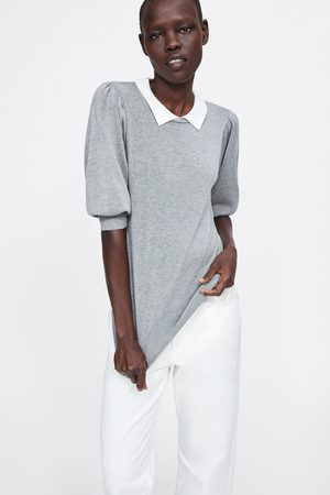 Zara Trui met contrasterende kraag
