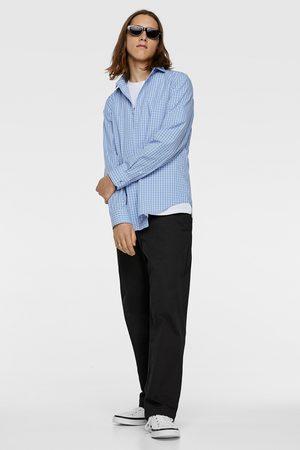 Zara Heren Overhemden - Geruit overhemd easy care