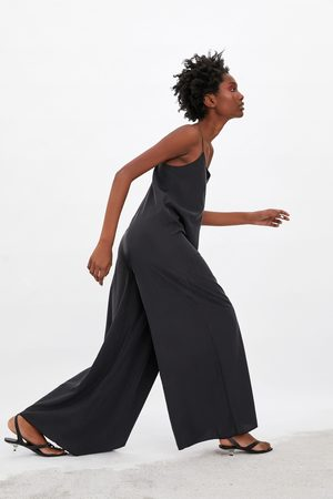 Zara Dames Jumpsuits - Lange wijde jumpsuit