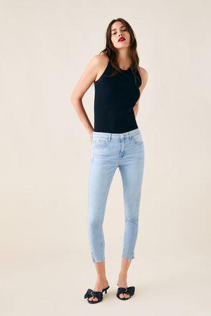 Zara Z1975 jeans with vented hems