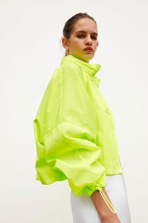 Zara Dames Regenkleding - Opvouwbare regenjas - rugzak