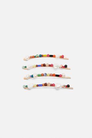 Zara Set haarspeldjes met diverse kleuren
