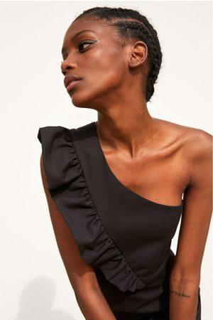 Zara Asymmetrische jumpsuit-jurk