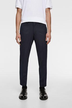 Zara Heren Pantalons - Comfortabele broek 'knit 4 ways