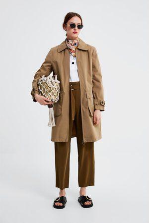 Zara Dames Trenchcoats - Trenchcoat met zakken