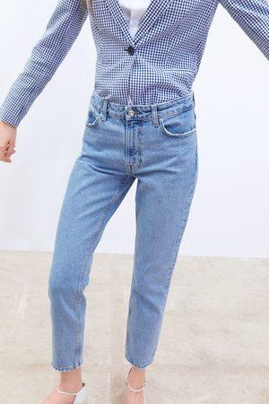 Zara Dames Pantalons - Jeans z1975 in mom fit