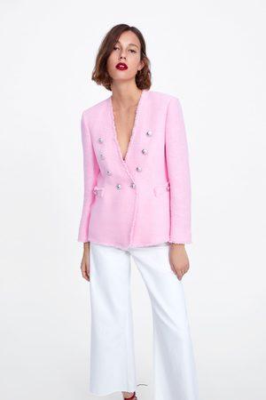 Zara Tweedjasje met knopen