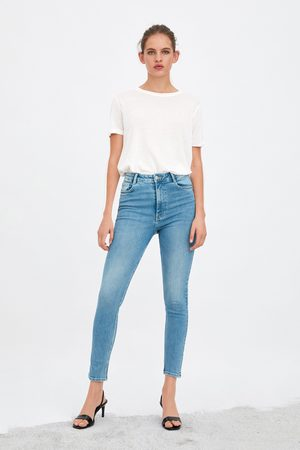 Zara Dames Pantalons - Hi-rise sculpt jeans