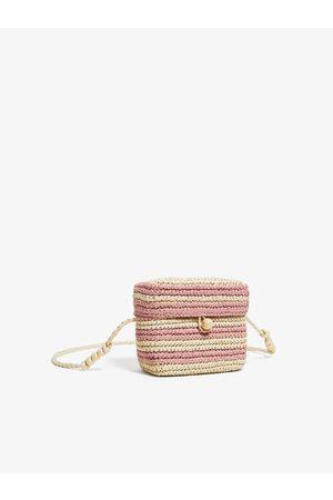 Zara Raffia clutch