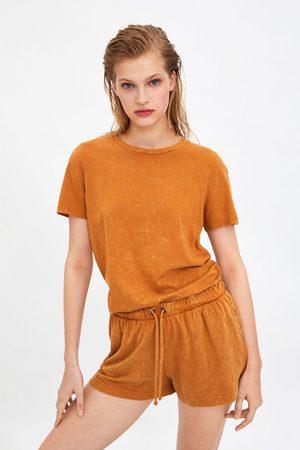 Zara Short met verwassen effect