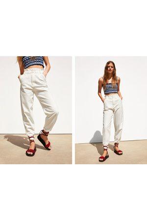 Zara Paperbag broek