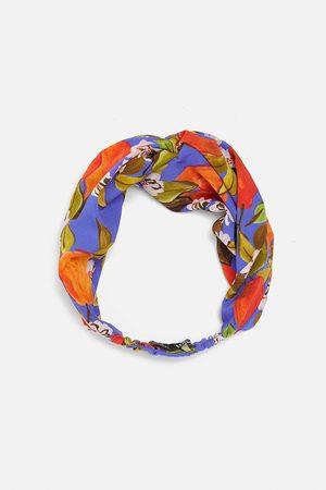 Zara Dames Haaraccessoires - Tulband-diadeem met print