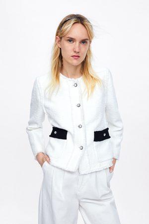 Zara Combi-vest met sierknoop