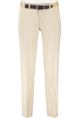 m.e.n.s. Heren Pantalons - Pantalon Summer Wool Madrid-U beige