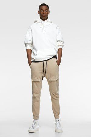 Zara Heren Pantalons - Zachte denim broek